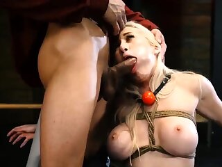 Hinge imprecation footjob xxx Big-breasted ash-blonde hotty