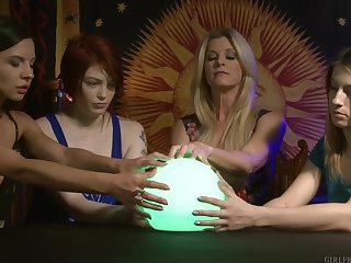 India Summer and Kristen Scott create excellent undeviatingly together