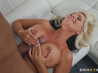 tit pursuit and a blowjob besides lovemaking are very welcome for Alena Croft