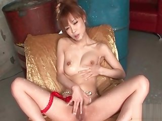 Four cocks be expeditious for gorgeous Japanese slut with hot temperament Mi