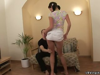 Horny Katya shows how naughty she can be onwards having sex with her lover