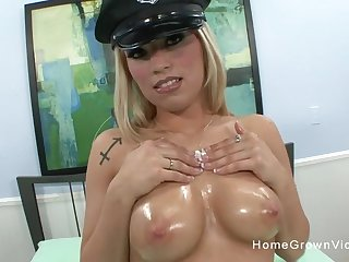 This naughty battle-axe loves carrying-on with her big Bristols but loves riding a hard cock quieten more!