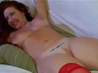 Housewife redhead Brazilian part 4