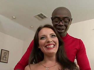 Kayla West plus A Big Black Penis - Interracial Making love