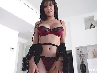 Staggering POV video be fitting of charming GF Gia Milana screwing and sucking