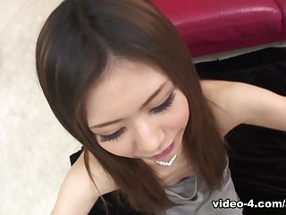 Aya Sugiura in Aya Sugiura rubs cocks with hands plus feet same time - AvidolZ