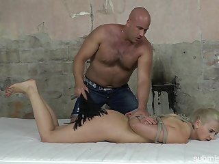 Paddling gives a new level of sexual pleasure for submissive Katy Sky