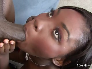 Raunchy Black Babe Got Creampied After Pass - osa well done