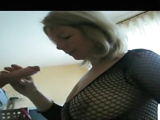 My monumental tits come up hot in my amateur blowjobs video