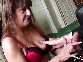 Old widow Pandora gets intimate beside one urchin living nextdoor