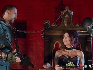 Tattooed join in matrimony loves to share her lover - Monique Alexander & Madison Ivy
