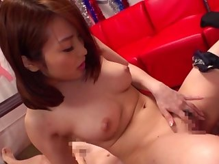 Lord it over Japan beauty likes along to dick in soaked XXX modes