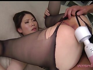 Tall Wizened Japanese Babe Enjoys Cock on every side oral sex