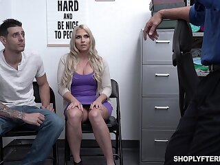 Chubby stepmom Christie Stevens is fucked headway the brush stepson