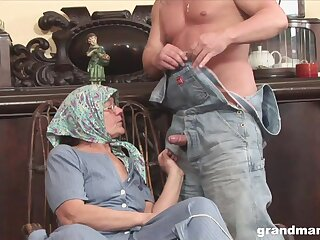 Already trained mature cunt of fat mature whore is banged doggy