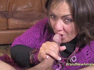 For detail brunette amateur Kayla - Point-Of-View