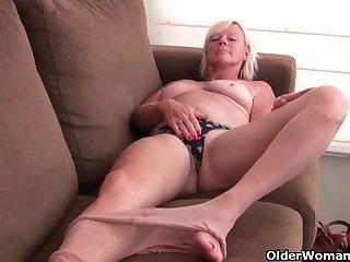 An older woman means amusement part 230
