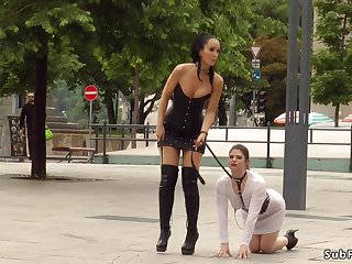 Slave gets piss together with spunk in teach interdiction