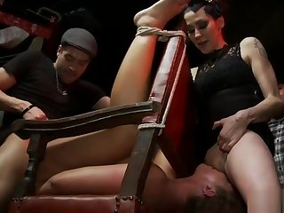 Related anal fucked at punk public show