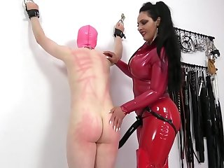 mistress fucks her tied following