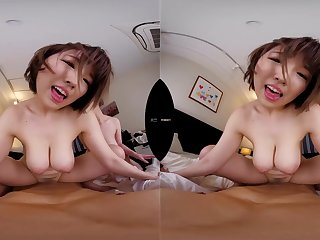 VR porn with steaming-hot busty Japanese babes