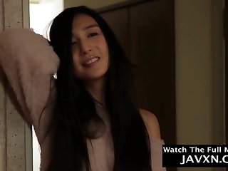 Slim, Japanese teen likes to have a go casual sex with her step- father, indefinitely