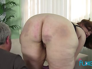 BBW Cherie pink dishevelled pussy