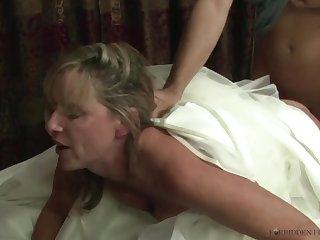Stepmother Jodi West Fucks Son Give Her Wedding Dress - JodiWest